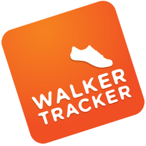 Orange walker tracker logo