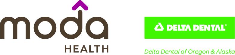 Moda Health and Delta Dental logo